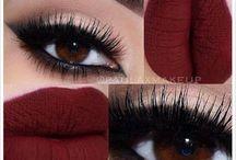 Göz-dudak makyajı