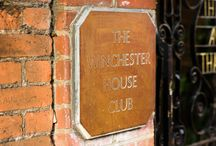 Winchester House Club / Winchester House Club is a private member club and it is also available for a venue to host a wedding reception and parties