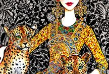 Fashion Illustration Inspiration / Fashion Illustration