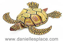 Fish and Under-the-Sea Crafts / Ocean crafts and under-the-sea crafts