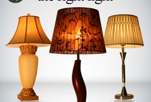Lights and Lamps / The right light- for each and every day of your life! Visit our store today to go through the variety of table lamps for your home.