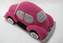 Amigurumis carros