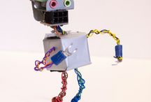 Robots, Fobots, and other cool assemblage art