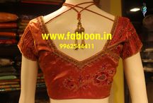 Machine Embroidery Blouse