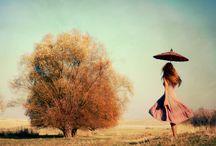 Summertime happiness / Respect for seasons.