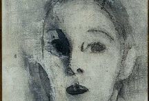 Painted self portraits