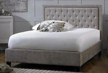 Fabric Bed Frames / Fabric upholstered bed frames from mybedframes.co.uk