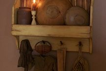 shelves / by Cindy Yonkers Tutwiler