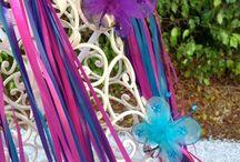 girls fairy purple party ideas