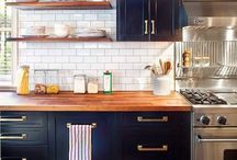 Kitchen: The ❤️ of the home / Thinking about a kitchen remodel? We know you spend a lot of time in your kitchen, so it should reflect your style while also being functional. Check out this board for some inspiration.