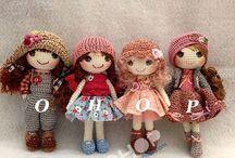 muñecas tejidas y otros