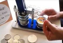 ¿Cómo hacer Chapas? / Aprende con El Lobo López, como hacer chapas personalizadas, imanes, abrebotellas y espejos de bolsillo.