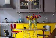 splash of yellow