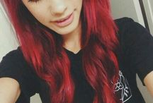 Scene Emo Hairstyles ♥ / I love scene and emo haircuts. Alex Dorame is my favourite youtuber. I love her hair ♥