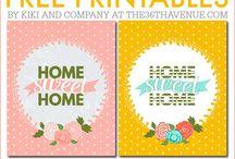 home printable