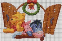 Cross stitch - Pooh
