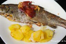 Recetas pescados y mariscos / Aquí una recopilación de recetas de cocina fácil preparadas con pescados y mariscos.