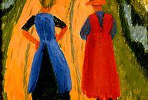 schilderkunst 20ste eeuw / Blaue Reiter, Ploeg