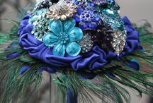 Brooch & Button Bouquets