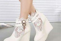 High heels fashion