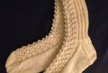 Self-made projects by knitting / crocheting / Knit / crochet
