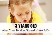 Milestones For Three Year Old