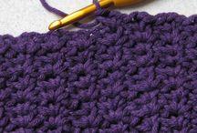 Crochet stitch patterns / by Veronica Dore