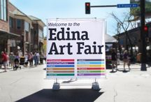 Edina Art Fair / The Edina Art Fair is held at 50th & France every summer. It kicks off the summer festival season with 300 artists displaying a diverse collection of art. June 5-7, 2015 at 50th & France!