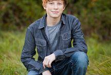 Teen Boy Photography poses