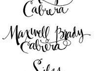 MES INSPIRATIONS CALLIGRAPHY