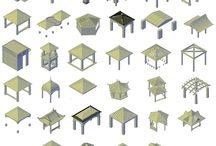 3D Gazebo CAD collection / Download this 3D GAZEBO CAD COLLECTION which includes 34 different designs. These 3D CAD models can be used in your landscape design and urban design CAD drawings.
