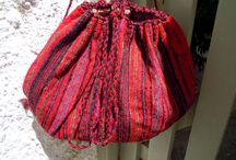 Vintage woven bags