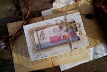 Миниальбом для фото  с рисунками Nata I.