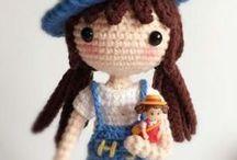 Amigurumis muñecas