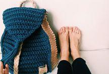 Рюкзаки, сумки крючком