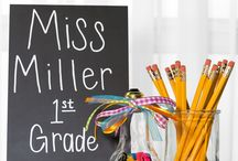 Back to School / Class room or teacher gift ideas.