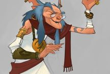 ChD - Mythological - Character Design / Characters that fit in recognizable mythology.