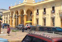 The Plaza Santa Ana El Salvador / Wonderful sights at the Plaza in Santa Ana El Salvador