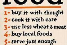 Food, glorious food...