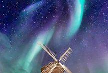 northem  light  Aurora boreale  e  australe