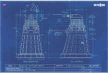 Dalek Blueprint / by Bonnie	Dorothy