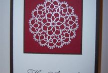 SU delicate doilies stamp set
