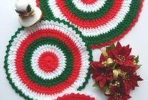 Crochet/Kitchen/coaster/potholder's