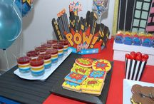 Parker Man's 3rd Birthday / Parker's 3rd birthday party worth a super heroes theme.  / by Holly Welsh