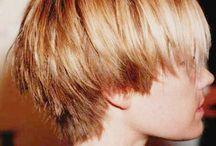 Gutt langt hår