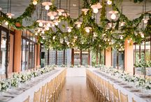 White & Green Wedding / A collection of our favorite White and Green wedding inspiration