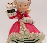 Vintage Christmas Ceramics