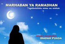 Marhaban Yaa Ramadhan...Mohon Maaf Lahir Bathin...