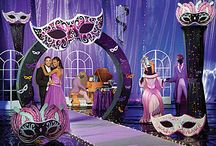 Prom Theme - Masquerade / Create all the mystery with a masquerade party theme! / by Stumps Party