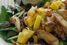 chick n mango salad